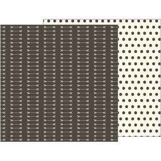 "Jen Hadfield Simple Life Double-Sided Cardstock 12""X12""-Arrows"