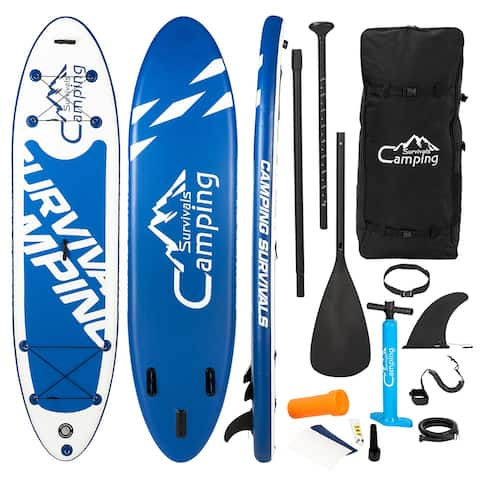 """Campingsurvivals 11' x 32"""" Inflatable Stand Up Paddle Board"""