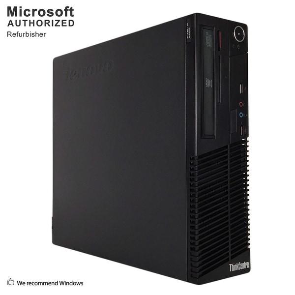 Lenovo M70E SFF, Intel E8400 3.0GHz, 4GB, 500GB HDD, DVD, WIFI, BT 4.0, VGA, W10H64 (EN/ES)-Refurbished