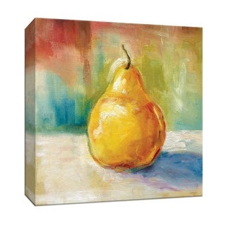"""PTM Images 9-147249  PTM Canvas Collection 12"""" x 12"""" - """"Fresh Pear"""" Giclee Fruits & Vegetables Art Print on Canvas"""