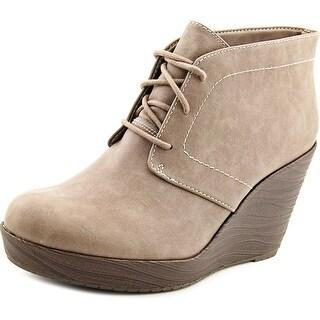 Dr. Scholl's Blaire Open Toe Synthetic Wedge Heel