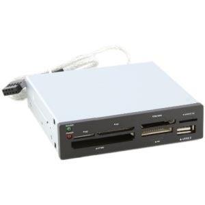 """Sabrent CRW-UINB Sabrent CRW-UINB USB 2.0 Flash Card Reader/Writer - CompactFlash Type I, CompactFlash Type II, Memory Stick,"