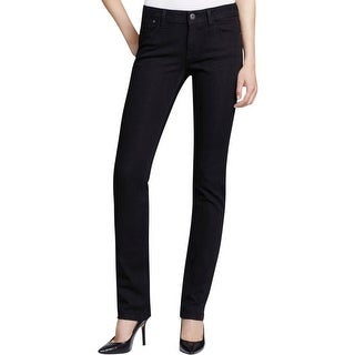 DL1961 Womens Coco Straight Leg Jeans Tencel Blend Curvy Fit
