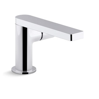 Kohler K-73050-7 Composed Single-Handle Bathroom Sink Faucet with Cylindrical Handle