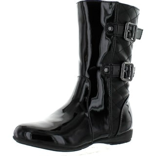 Kenneth Cole Reaction Penny Quilt Boots - Pewter