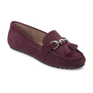 Aerosoles Womens Soft Drive Comfort Loafers, purple, 9 C(D) US - 9 C(D) US
