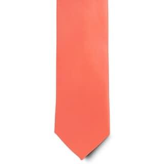 Men's 100% Microfiber Coral Tie