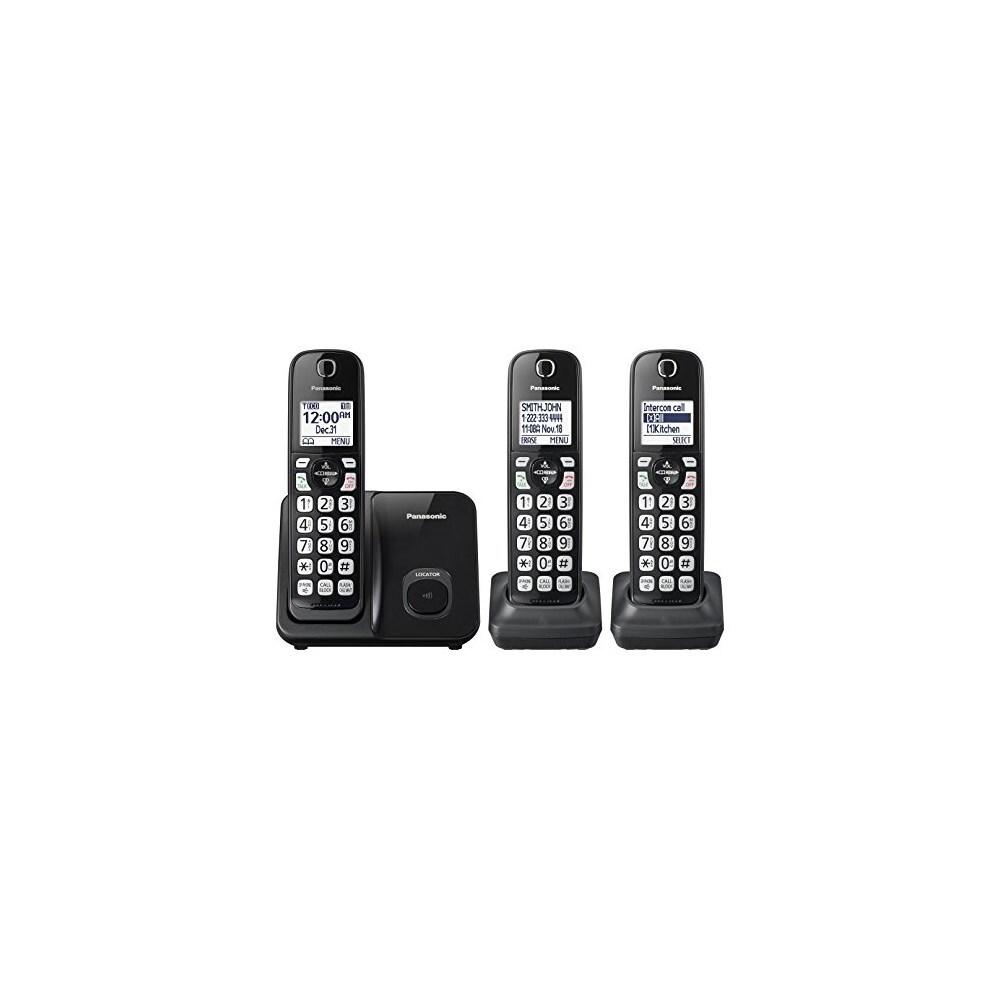 Panasonic KX-TGD513B Expandable Cordless Phone DECT 6.0 Technology