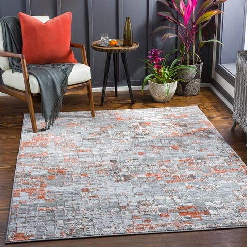 Braque Modern Abstract Area Rug