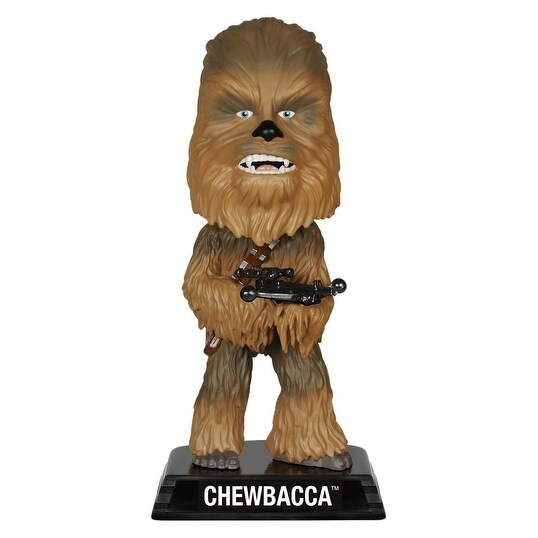 "Star Wars The Force Awakens Wacky Wobbler 7"" Bobble Head Chewbacca - multi"