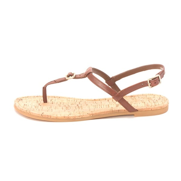 Cole Haan Womens D44372 Open Toe Casual T-Strap Sandals - 6