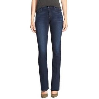 Joe's NEW Dark Blue Women's Size 29X32 Boot Cut Seamed Stretch Jeans