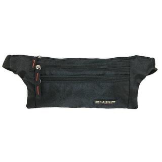 CTM® Money Belt Sport Waist Pack - Black