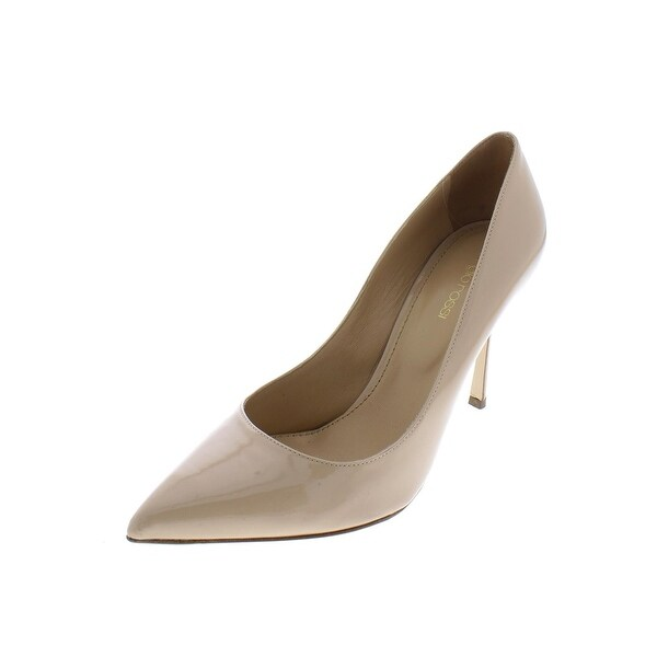 a8c8cdc90599 Sergio Rossi Womens Godiva Dress Heels Suede Pointed Toe - 38 medium (b