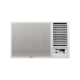 LG LW8016HR 7,500 BTU 115V Window-Mounted Air Conditioner with 3,850 BTU Supplemental Heat Function - White