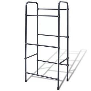 vidaXL Steel Shelf for 3 Crates
