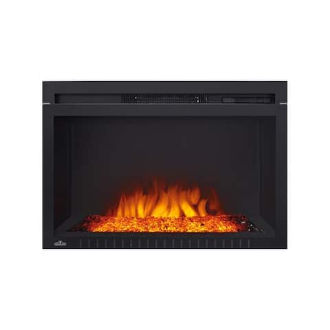 """Napoleon NEFB29G-3A 5000 BTU 29"""" Wide Built-In Electric Fireplace with - Black"""