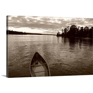 """""""Boat on the water"""" Canvas Wall Art"""