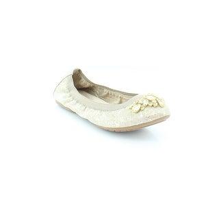 White Mountain Carella Women's Flats & Oxfords Gold/Metallic