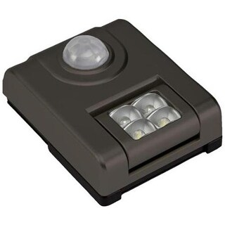 Fulcrum Products 20043-307 Bronze LED Sensor Light, 3 in.