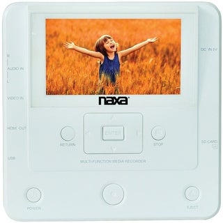 Naxa(R) NTM-1100 DVD/USB Media Recorder with Screen