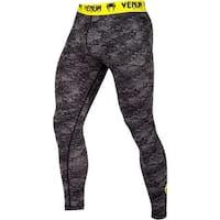 Venum Tramo Dry Tech MMA Compression Spats - Black/Yellow