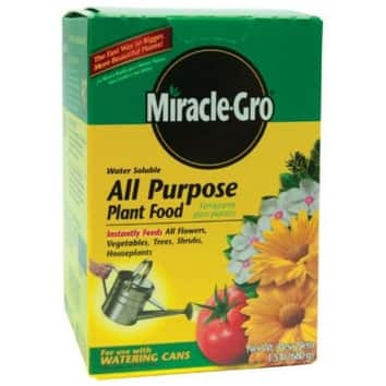 Miracle-Gro 100112 All Purpose Plant Food 1.5 Oz