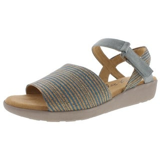 Easy Spirit Womens Kala Wedge Sandals Casual Striped