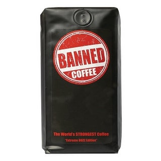 Banned Coffee - The World's Strongest Coffee - 1 Lb. Bag
