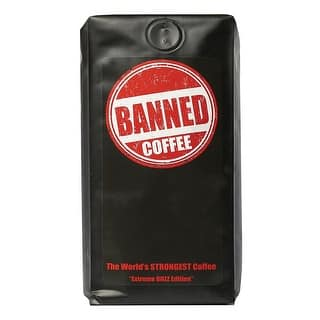 Banned Coffee - The World's Strongest Coffee - 1 Lb. Bag|https://ak1.ostkcdn.com/images/products/is/images/direct/18d472ec923083639941009c7c14c9fb0ac80efe/Banned-Coffee---The-World%27s-Strongest-Coffee---1-Lb.-Bag.jpg?impolicy=medium