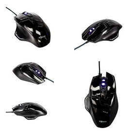 Mazer EMS642 Maximum 2500-dpi Blue Wave Sensor Right-handed Wired Gaming Mouse
