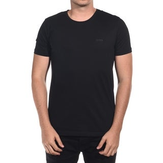 Hugo Boss Green Men's C-Lecco 80 Premium Jersey Tee T-Shirt Black Slim Fit