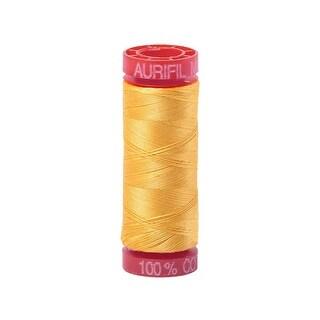 Bmk12sp50 1135 Aurifil Ctn Thread Mako 12wt 50m Pale Yellow