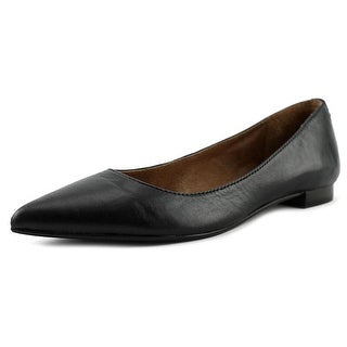 Frye Sienna Women Pointed Toe Leather Black Flats
