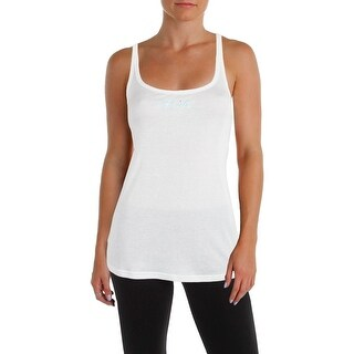 Linea Donatella Womens Sleep Tank Embroidered Racerback