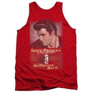 Elvis Jailhouse Rock Poster Mens Tank Top