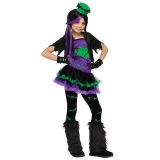 Girls Funky Frankie Costume