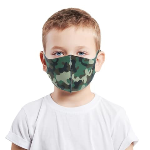Kids Reusable Washable Fashion Face Covering Protection From Dust And Particles