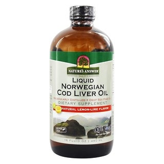 Nature's Answer Liquid Cod Liver Oil Norwegn 16-ounce
