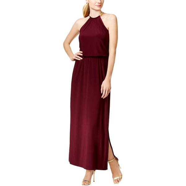 MSK Womens Evening Dress Matte Jersey Prom