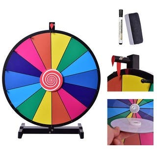 Costway 24'' Tabletop Editable Dry Erase Color Prize Wheel 14 Slot Fortune Spinning Game https://ak1.ostkcdn.com/images/products/is/images/direct/18dfebc22888d3591139457ecdb7bd821fb4ca9d/Costway-24%27%27-Tabletop-Editable-Dry-Erase-Color-Prize-Wheel-14-Slot-Fortune-Spinning-Game.jpg?impolicy=medium