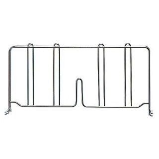 Quantum Storage DIV12S Wire Shelving Dividers Stainless - 12 in.