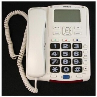 Complete Medical P581 Button Telephone with Speaker Phone, Large