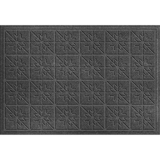 843540023 Water Guard Star Quilt Mat in Charcoal - 2 ft. x 3 ft.