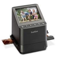Ivation High Resolution 23MP Film Scanner Converts 135, 110 and 126 Films Slides and Negatives into Digital Photos