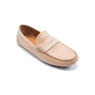 Givenchy Men's Tan Leather Loafer Slip Ons