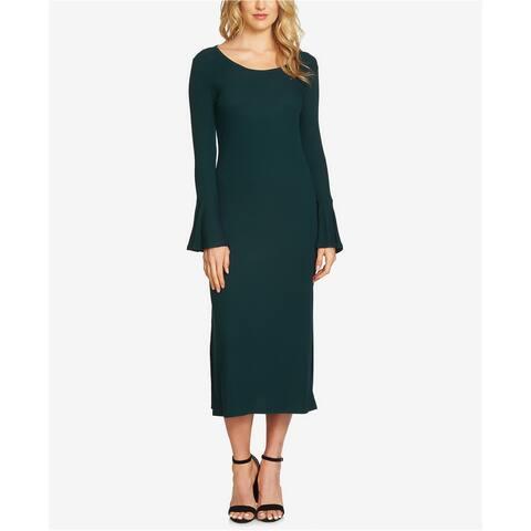 1.State Womens Ribbed Midi Dress