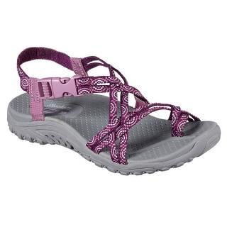 Skechers Women's REGGAE-HAPPY RAINBOW Sandals