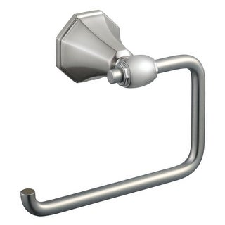 Design House 560102 European Style Toilet Paper Holder from the Barcelona Collec - satin nickel - n/a