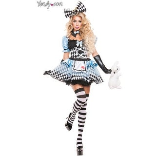 Glam Alice Costume, Alice In Wonderland Costume
